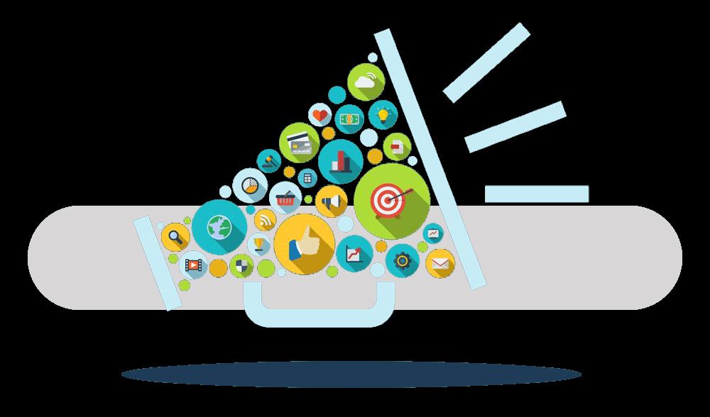 التسويق الإلكتروني هو سر نجاح ونمو الشركات والمؤسسات التجارية ويعتبر الطريقة الأمثل لتسويق الخدمات والمنتجات عبر شبكة الإنترنت.