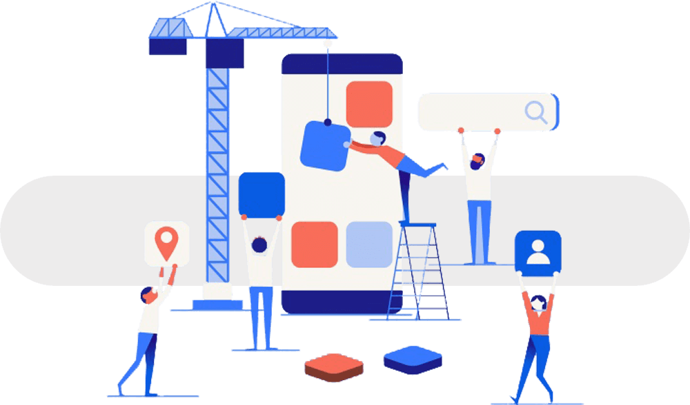 تطبيقات الهاتف تساعد على المنافسة على نطاق أوسع وتتيح لعملائك الوصول إليك في أي وقت كما يمكن عرض الخدمات والمنتجات خلالها.