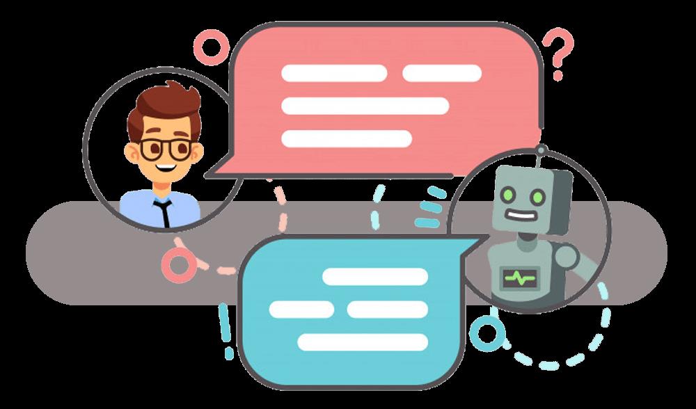 الشات بوت يوفر سرعة الرد والتواصل مع العملاء وعرض مميزات الخدمات والمنتجاتخلال المنصات المختلفةبما ينعكس بزيادة معدلات المبيعات.