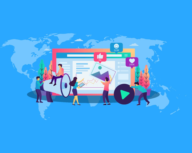 خدمات تصميم وتطوير المواقع الإلكترونية